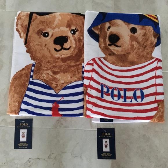 Ralph Lauren Mens Beach Towel: Polo By Ralph Lauren Other